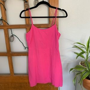 Hot Pink Minidress